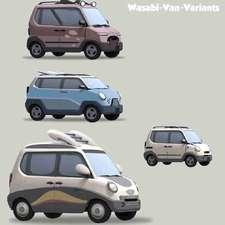 Wasabi-van-variants