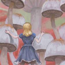 Alice-wonderland-mushroom-forestB