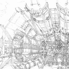alien 4 betty engine room
