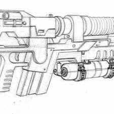 alien 4 rifle