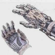 alien 4 surgical hand prop