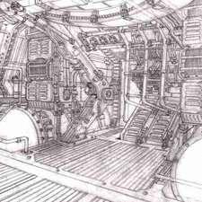 alien4MARTINbetty-engine-room