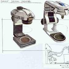 alien4MARTINdrink-machine