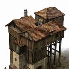 wood building-medieval1
