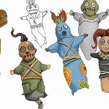 Frog-Princess-voodoo-dolls
