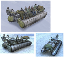 military-snow-transport