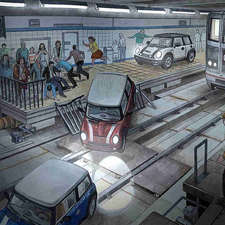 Subway-scene